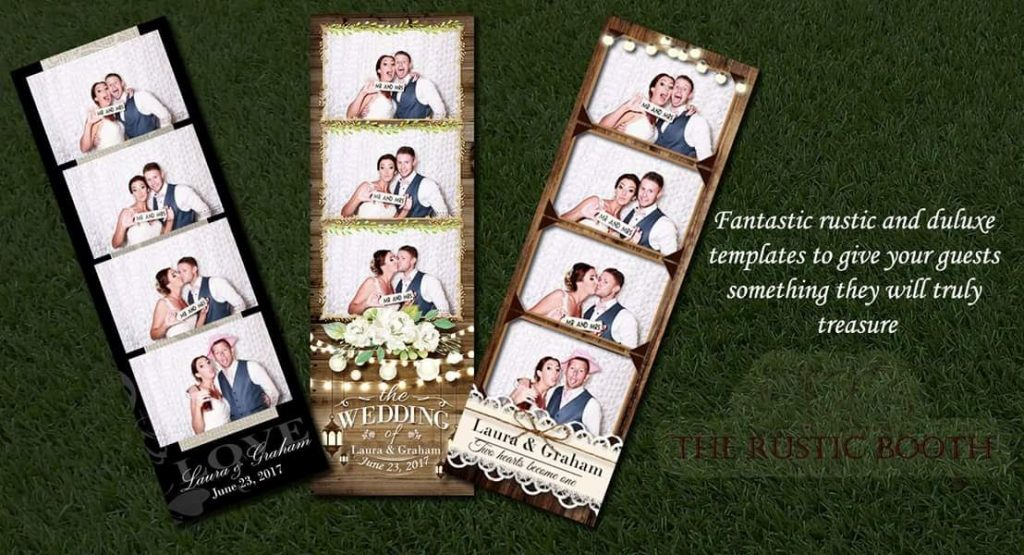 Rustic Booth photo booth templates