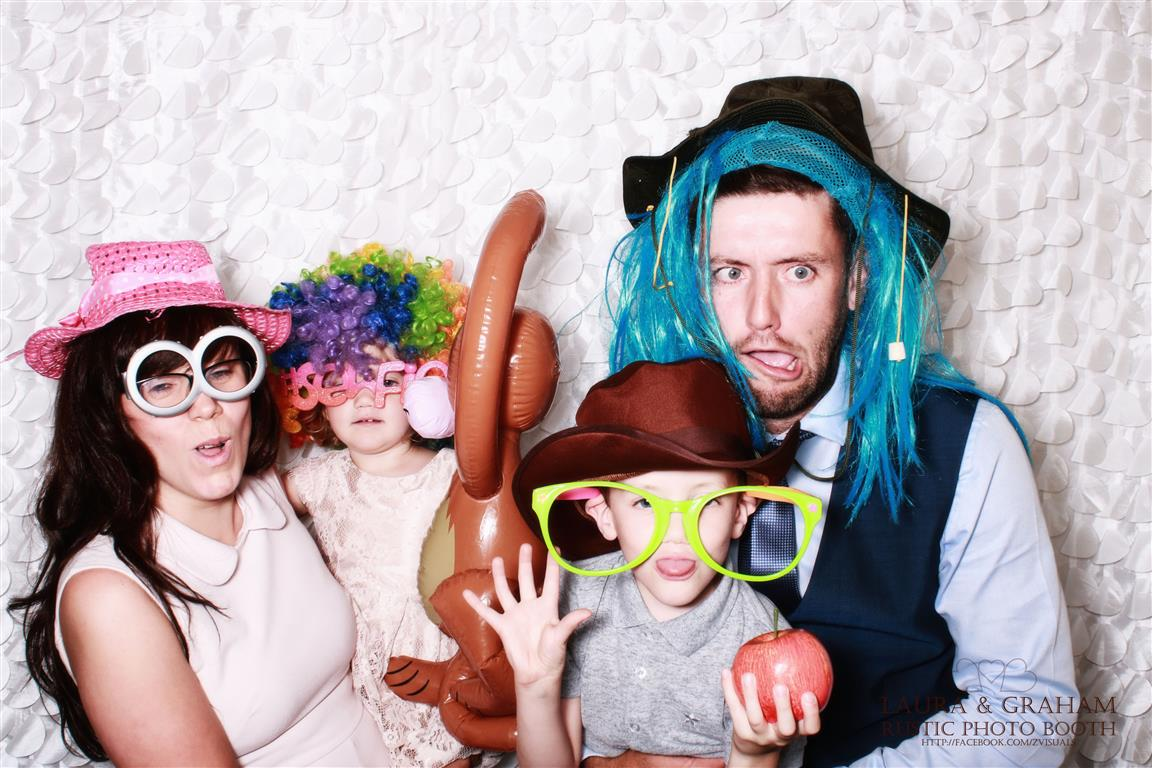 fancy dress in the photo booth